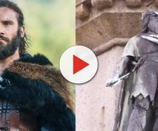 Rollo em Vikings. (Foto/Reprodução).
