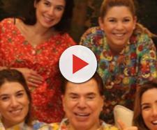 Silvio Santos e as filhas - Instagram