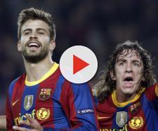 Surat Cinta Gerard Pique untuk Carles Puyol - bolaskor.com - bolaskor.com