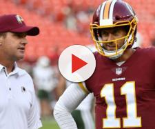 The Redskins are a 3 point underdog at home vs Houston in Week 11. [Image via USA Today/YouTube]