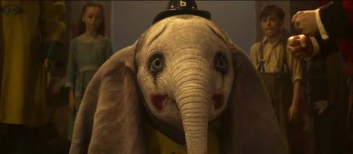 "A trailer has dropped for the new Disney live-action film ""Dumbo."" [Image Moviefone/YouTube]"