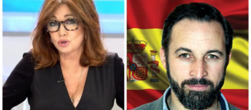 Ana Rosa Quintana y Santiago Abascal