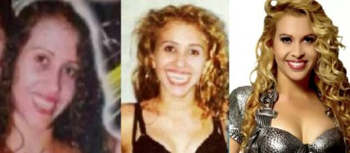 Antes e depois de Joelma cantora