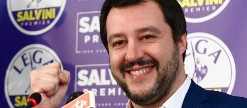Il leader della Lega, Matteo Salvini - lavocedeltrentino.it