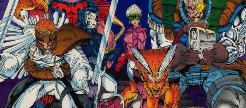 Cable e a X-Force foram personagens criados por Rob Liefeld.