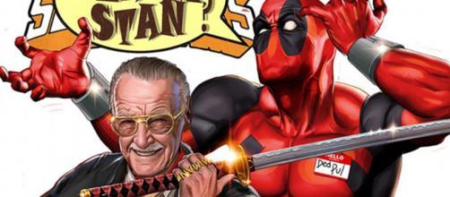 Capa de Deadpool com participação de Stan Lee