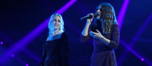María y Sabela, vestidas de Bershka. / RTVE.es