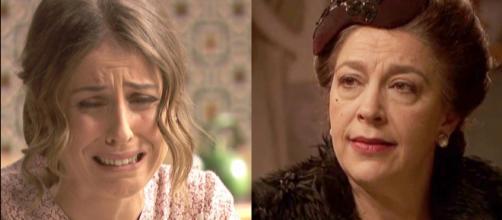 Spoiler, Il Segreto: Severo e Carmelo credono che Francisca sia lo stalker di Adela