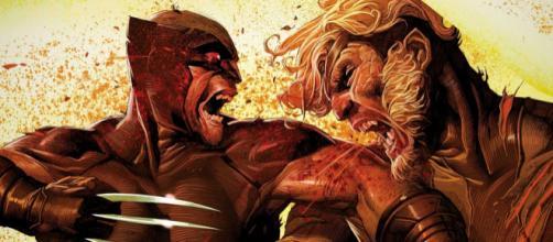 Wolverine e Dentes de Sabre são dois mutantes que possuem o fator de cura.