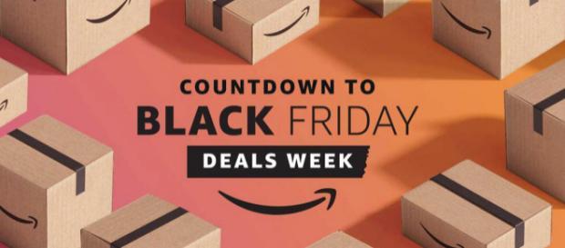 Black Friday, Amazon propone sconti per una settimana