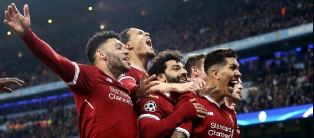 Liverpool esultanza champions league