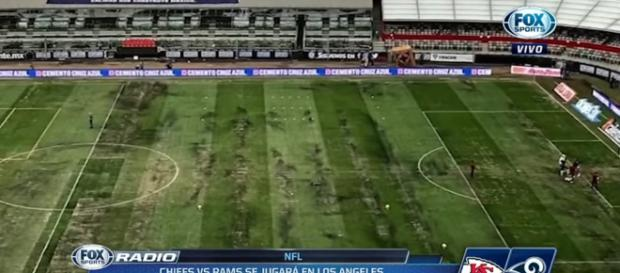 Rams vs. Chiefs Monday Night Football game moved out of Mexico [YouTube screencap / Fox Sports]