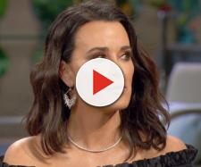 Kyle Richards is seen on the 'RHOBH' reunion. [Photo via Bravo]