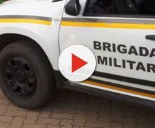 O homem foi preso pela Brigada Militar