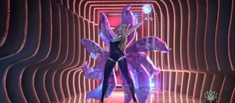 Virtual K-pop group K/DA hits number one for digital single Pop/Stars. [Image Source: League of Legends - YouTube]
