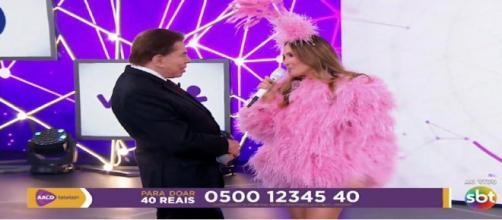 Encerramento do Teleton 2018 com Silvio Santos e Claudia Leitte