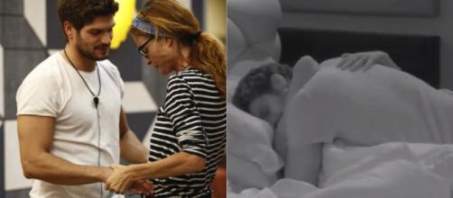 Jane Alexander e Elia Fongaro, coccole e abbracci durante la notte ... - gossipposo.it