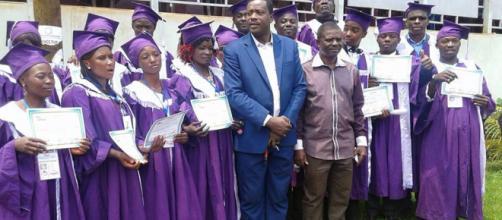 Une sortie avec les nouveaux diplômés du Ceframa (c) Châtelain Ewolo