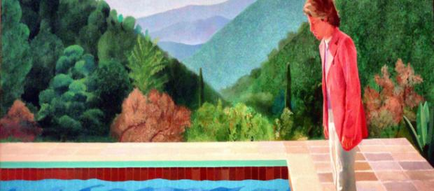 David Hockney's Portrait of an Artist (Pool with Two Figures) [Image Source: Flickr | rverc]