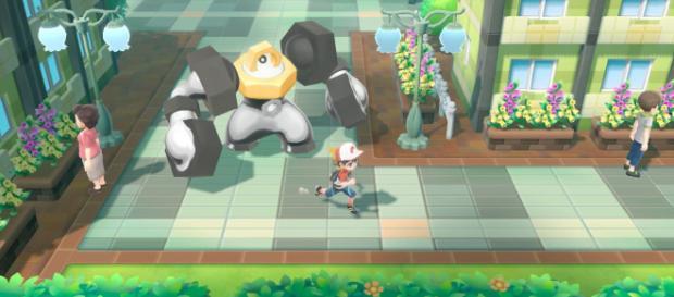 'Pokemon: Let's Go' lets you transfer Pokemon from 'Pokemon GO.' [GameXplain / YouTube screencap]