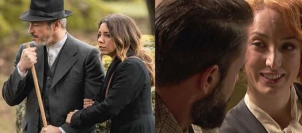 Spoiler, Il Segreto: Severo chiede la mano di Irene, la partenza di Emilia e Alfonso