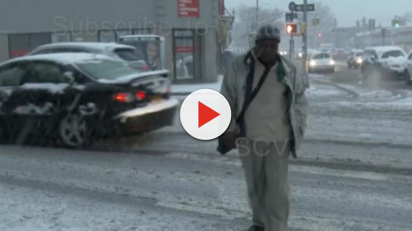 First snowfalls of the season arrive with inches of snow and seven deaths