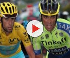 Vincenzo Nibali ed Alberto Contador