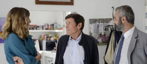 Gianni Morandi Lorella Cuccarini in L'Isola di Pietro 2