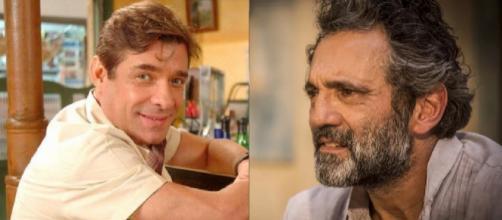 Luiz Carlos Tourinho e Domingos Montagner. (foto reprodução).