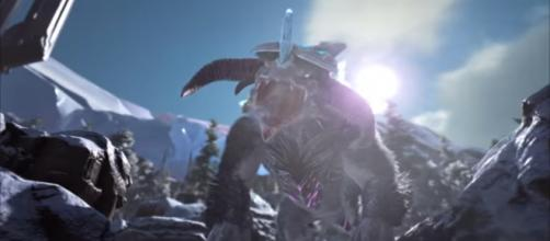 The Ice Titan got a couple of tweaks. [Image source: ARK: Survival Evolved/YouTube]