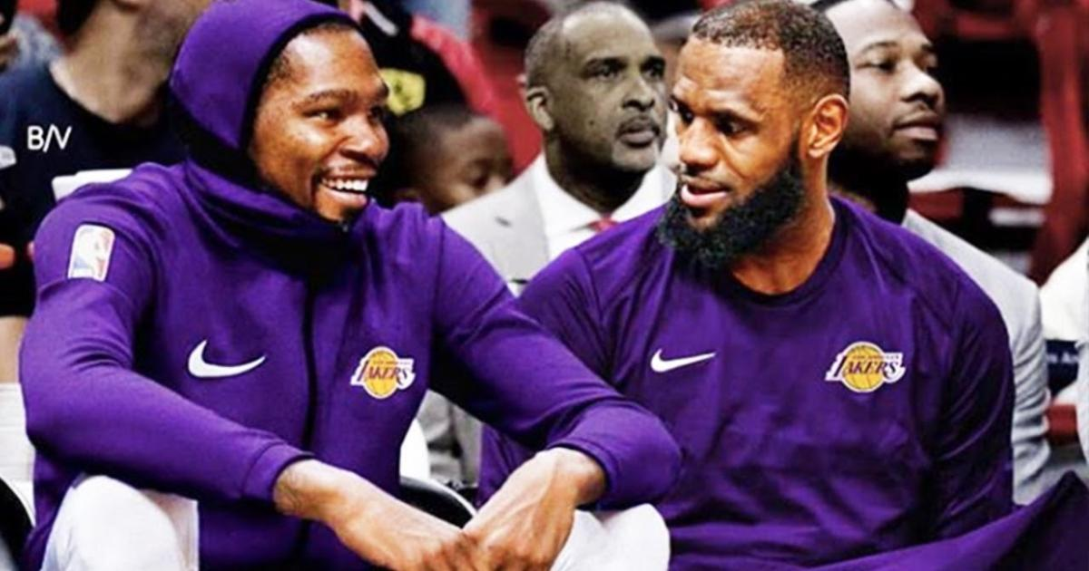 16a83ffff4fe Lakers Rumors  Kevin Durant expected to join LeBron in L.A.