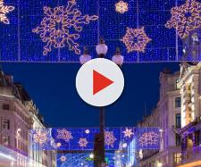 Christmas lights in Regent Street, London. [Image Diliff/Wikimedia]