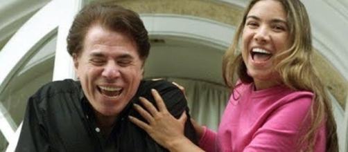 A filha do apresentador Silvio Santos, Patrícia Abravanel foi sequestrada em 2001. (foto reprodução).