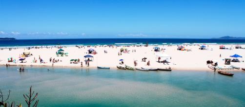 Guarda do Embaú é uma das praias mais movimentadas da Palhoça. (foto reprodução).