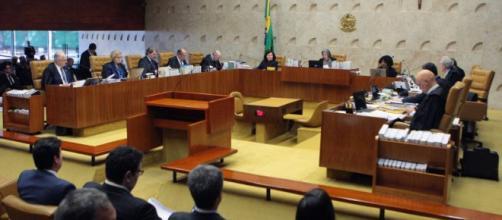 Ministros do STF estariam incomodados com proposta de bancada aliada ao presidente eleito, Jair Bolsonaro. (foto reprodução).