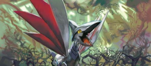 Skarmory é um dos novos chefes de reide do jogo. (foto reprodução).