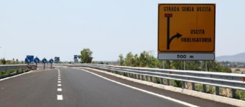 Strada Sassari - Alghero . Fonte: La Nuova Sardegna