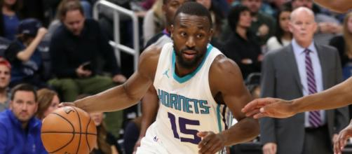 The Hornets' Kember Walker scored a career-high 60 points in his team's game on Saturday (Nov. 17). [Image via NBA/YouTube]