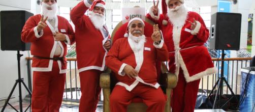 Casting per la ricerca di numerosi Babbo Natale