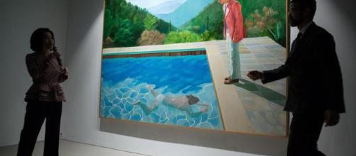 Hockney, record asta per artista vivente - Corriere dello Sport - corrieredellosport.it