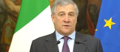 Il Presidente del Parlamento Europeo Antonio Tajani