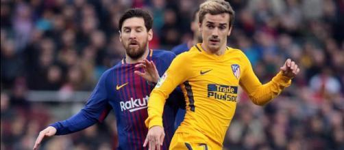 Lionel Messi y Antoine Griezmann. / TN.com