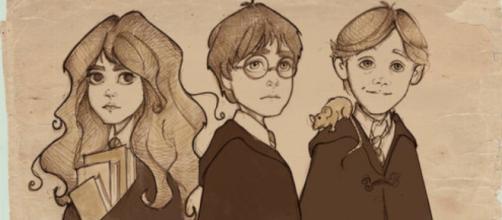 Os desenhos foram feitos a lápis e assinados pela autora.