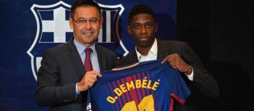 Transféré au Barça pour 105 millions d'euros en 2017, Ousmane Dembélé ne semble plus en odeur de sainteté en Catalogne. (goal.com)