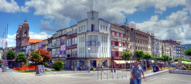 Avenida Central de Braga [Imagem via Wikimedia Commons/Vic Torvic]