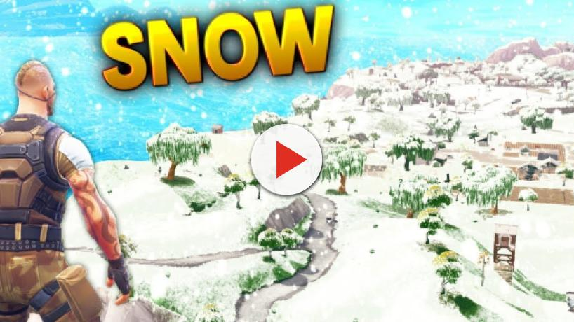 Snowy map may come to Fortnite Battle Royale