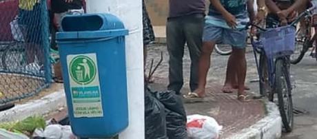 Recém-nascido foi localizado no lixo, em em Vila Vilha, Espírito Santo