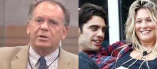 Gf Vip: flirt studiato a tavolino tra Stefano e Benedetta, Cecchi Paone critica Corona