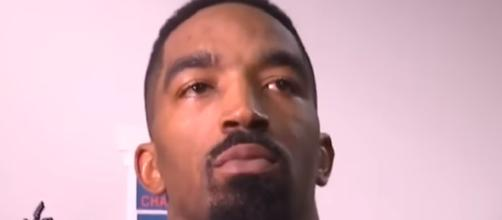 J.R. Smith speaks during interview. - [Stay / YouTube screencap]