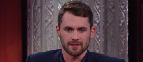 Kevin Love interview with Stephen Colbert. - [The Late Show with Stephen Colbert / YouTube screencap]